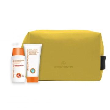 Pack Protector Solar Emulsión SPF50 + Regalo Aftersun y Neceser Germaine de Capuccini