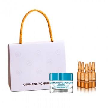 Pack Crema Hydracure Piel Normal Mixta + 5 Flash Lift Serum Germaine de Capuccini