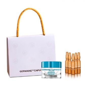 Pack Crema Hydracure Piel Normal Seca+ 5 Flash Lift Serum Germaine de Capuccini